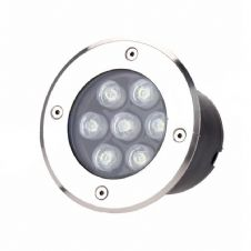 7W Outdoor Light Built-In Spotlight
